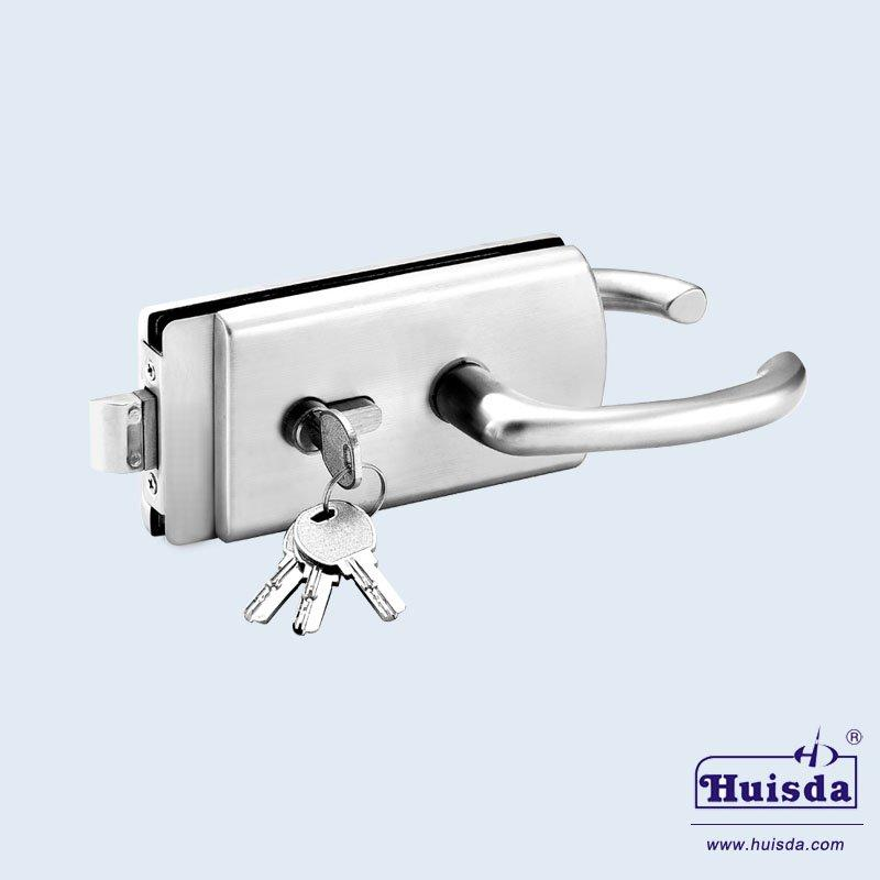 HSD 592AF 带活动执手玻璃门锁