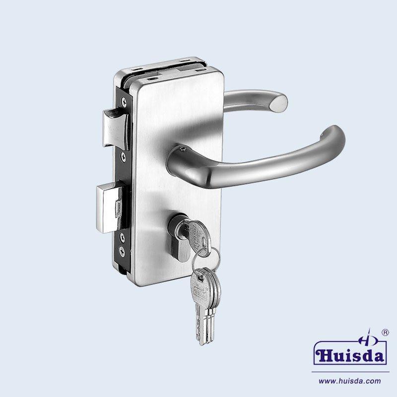 HSD 812A 带活动执手玻璃门锁