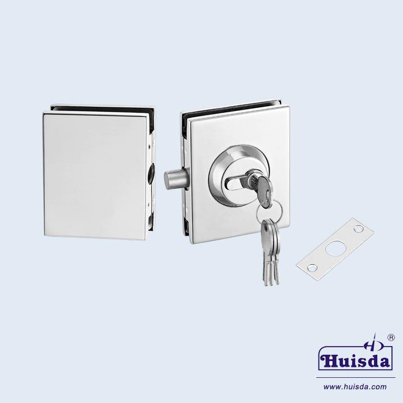 HSD 543A+B 玻璃门锁
