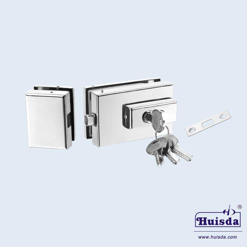HSD 590A+B 玻璃門鎖